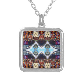 Music Festival Silver Plated Necklace