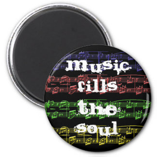 Music Fills The Soul Magnet