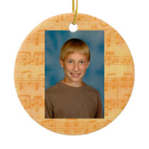 Music First Day of School All Occasion  Ornament