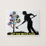 Music Flow Gardener Jigsaw Puzzles