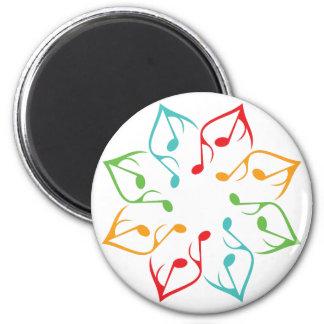 Music Flower Magnet
