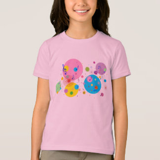 Music (flowers,hearts & dots 4) T-Shirt
