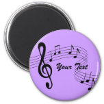 Music Flows Magnet (any color)