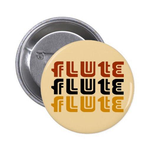 Music Flute Logo Button