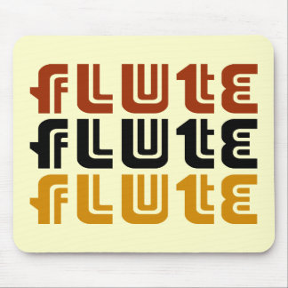 Music Flute Logo Mouse Pad