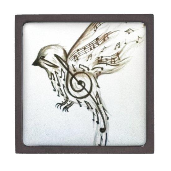 Music flys jewelry box