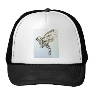 Music flys trucker hat