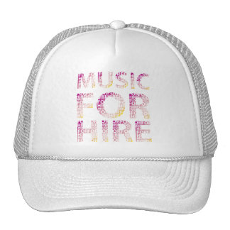 Music For Hire Club Trucker Hat