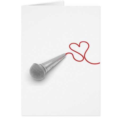 Music for love card