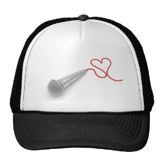Music for love mesh hats