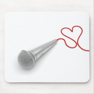Music for love mouse pad