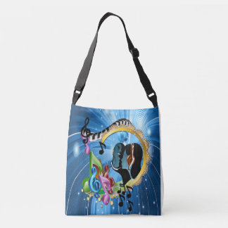 Music for the Soul Crossbody Bag