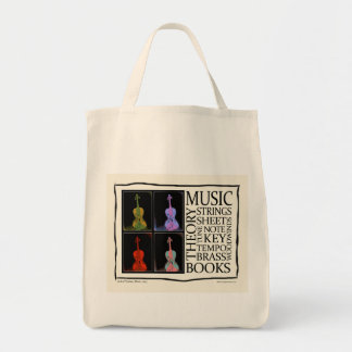 Music from Books Tote Bags