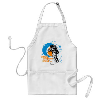 Music from outta Space Adult Apron