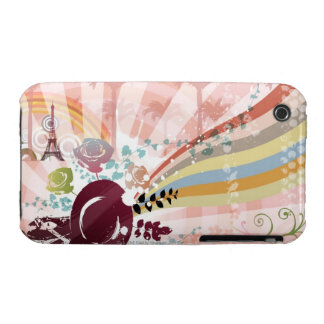 Music from Vintage Gramophone iPhone 3 Case