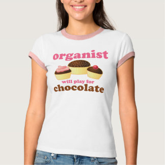 Music Fun Organist T-shirt