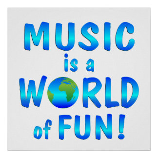 Music Fun Poster