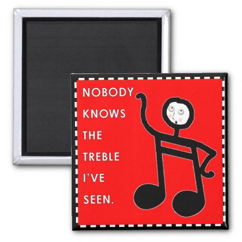 Music Funny Magnet