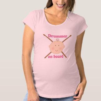 Music Future Drummer women's pregnancy tee