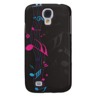 music galaxy s4 cases