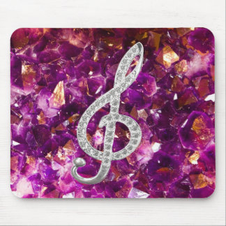 Music Gclef Mouse Pad