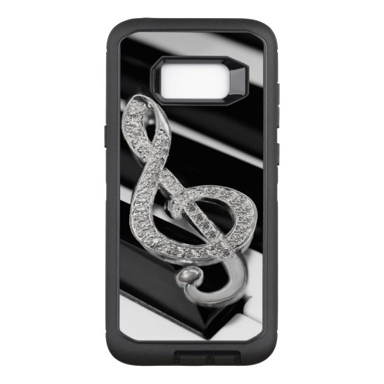 Music Gclef OtterBox Defender Samsung Galaxy S8+ Case