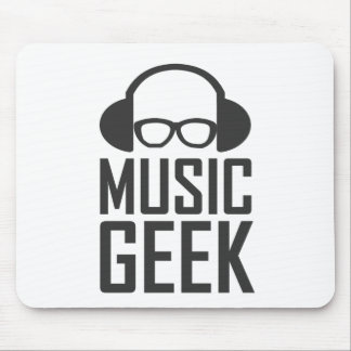 Music Geek Mouse Pad