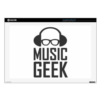 Music Geek Decal For Laptop