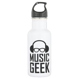 Music Geek Water Bottle
