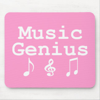 Music Genius Gifts Mouse Pad