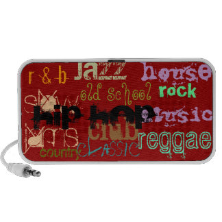 Music Genre Portable Speakers