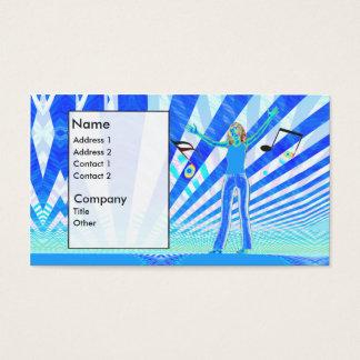 Music Girl - Business Business Card