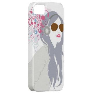 Music Girl - iPhone 5 Case