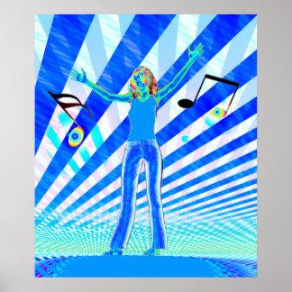Music Girl Poster