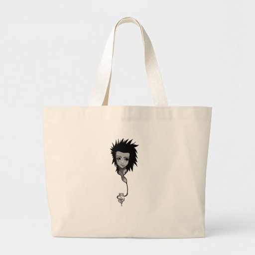 Music Girl Tote Bags