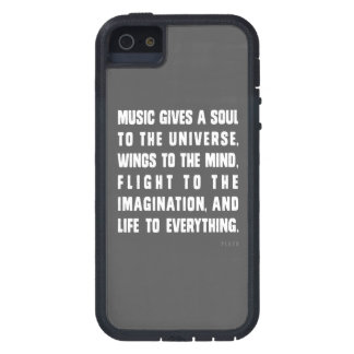 Music Gives A Soul To The Universe Case For iPhone SE/5/5s