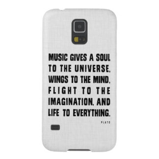 Music Gives A Soul To The Universe Samsung Case