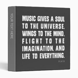Music Gives Binder