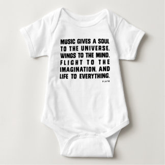 Music Gives Soul To The Universe Shirt