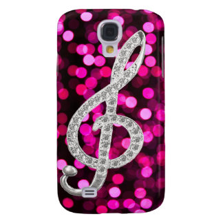 Music Glef with light background Galaxy S4 Cover