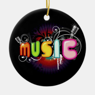 Music Graffiti Ornament