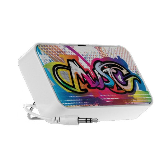 Music Graffiti Portable Speaker