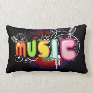 Music Graffiti Throw Pillow