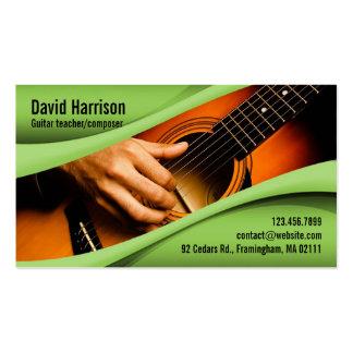 Music Guitar Business Card