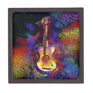 music guitar instrument gift box