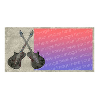 Music Guitar Photocard Card