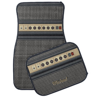 Music Guitar Sound Amplifier Car Mat