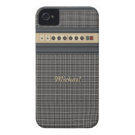 Music Guitar Sound Amplifier iPhone 4 Case
