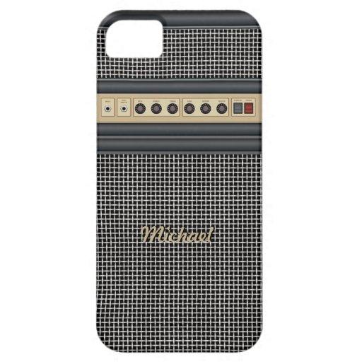 Music Guitar Sound Amplifier iPhone 5 Case