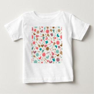 Music Guitars & Chicks Groovy Design Baby T-Shirt